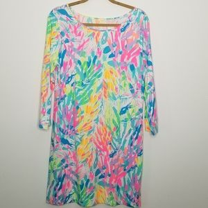 Lilly Pulitzer 88189 pima cotton dress size Large